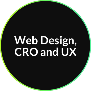 Web Design, CRO and UX